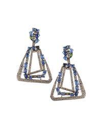 Bavna - Blue Champagne Diamond - Lyst