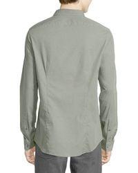 Michael Kors - Multicolor Woven Slim-fit Cotton Poplin Shirt for Men - Lyst