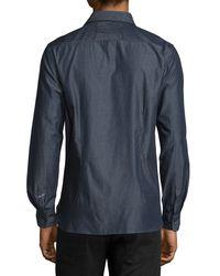 Robert Graham | Blue Brass Monkey Tailored-fit Sport Shirt for Men | Lyst