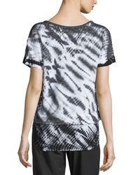 Marc New York | Multicolor Short-sleeve Layered Tie-dye Top | Lyst