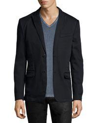 John Varvatos - Black Two-button Soft Jacket for Men - Lyst