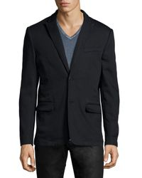 John Varvatos - Black Two-button Soft Jacket for Men - Lyst