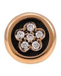 Pasquale Bruni - Multicolor 18k Rose Gold Diamond Flower Single Stud Earring - Lyst