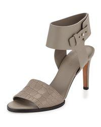 Vince - Multicolor Antonia Mid-heel Leather Sandal - Lyst