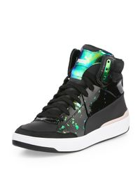 PUMA | Black Brace Femme Mid-top Sneaker | Lyst