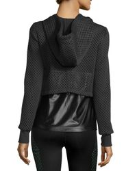 Koral Activewear - Black Parallel Double-layer Hooded Sport Jacket - Lyst