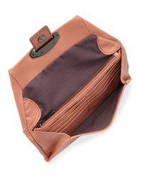 Kooba - Orange Ruby Crossbody Wallet - Lyst