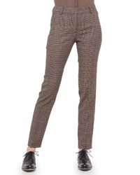 Akris - Multicolor Melvin Prince Of Wales Print Pants - Lyst