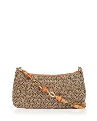 Eric Javits | Brown Bulu Squishee® Clutch Bag | Lyst