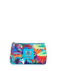 Love Moschino - Multicolor Jungle-print Canvas Cosmetic Bag - Lyst