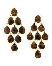 Ippolita - Metallic 18k Rock Candy Cascade Earri - Lyst