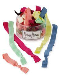 Neiman Marcus | Multicolor 35-piece Hair Tie & Headband Set | Lyst