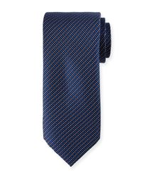 Neiman Marcus | Metallic Dotted And Square Woven Tie for Men | Lyst