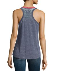 Chaser - Blue Usa-graphic Tank Top - Lyst