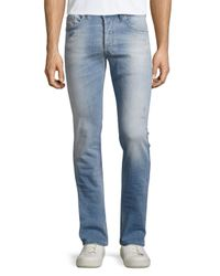 DIESEL | Blue Safado Slim-fit Jeans for Men | Lyst