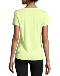 Marika Tek - Yellow Spirit Performance Tee - Lyst