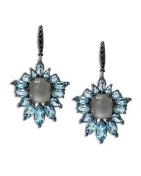 Stephen Dweck | Cyprus Blue Quartz Fan Drop Earrings | Lyst
