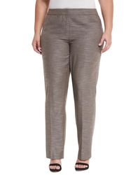 Lafayette 148 New York | Gray Barrow Loose-fit Pants | Lyst