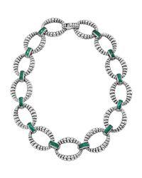 Lagos - Multicolor Venus Malachite Link Necklace - Lyst
