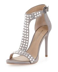 BCBGMAXAZRIA | Multicolor Diana Jeweled T-strap Sandal | Lyst