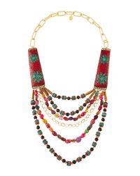 Devon Leigh | Multicolor -inspired Multi-strand Statement Necklace | Lyst