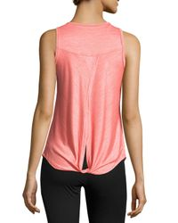 Balance Collection | Multicolor Opal Back-knot Performance Tank | Lyst