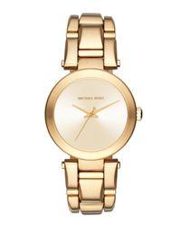 MICHAEL Michael Kors - Metallic Delray 36mm Round Bracelet Watch - Lyst