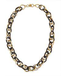 Ashley Pittman | Multicolor Kamba Dark Horn Necklace | Lyst