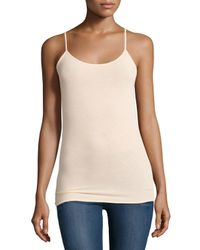 VINCE | Natural Under Everything Jersey Camisole | Lyst