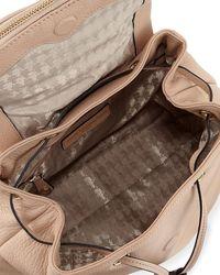 Karl Lagerfeld - Black Rhonda Pebbled Leather Satchel Bag - Lyst