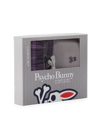 Psycho Bunny - Gray Thermal Tee & Flannel Pants Lounge Gift Set for Men - Lyst