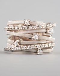 Marco Bicego - Goa Diamond White Gold Ring - Lyst