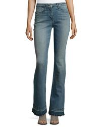 3x1 - Blue Bell-bottom Jeans - Lyst