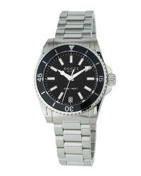 Gucci - Black 32mm Dive Stainless Steel Bracelet Watch - Lyst