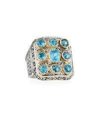 Konstantino - Color Classics Blue Topaz Ring - Lyst