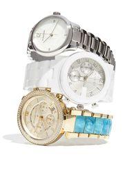 Burberry - Metallic 32mm Round Stainless Steel Bracelet Watch W/diamonds - Lyst