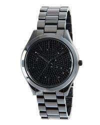 MICHAEL Michael Kors - Black Runway 41mm Ceramic Watch for Men - Lyst