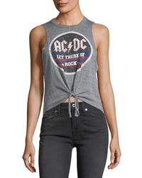 Chaser | Gray Let There Be Rock Ac/dc Tank | Lyst