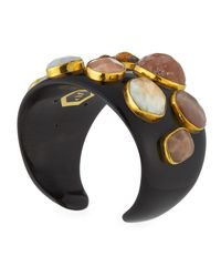 Ashley Pittman - Multicolor Mawe Dark Horn Cuff Bracelet - Lyst