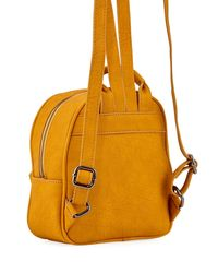 Neiman Marcus - Black Matte Pebbled Mini Backpack - Lyst