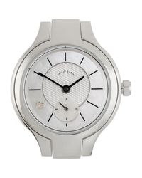 Philip Stein - Metallic Stainless Steel Small Round Watch Head Mother-of-pearl for Men - Lyst