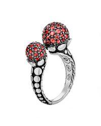 John Hardy - Dot Red Sapphire Ring - Lyst
