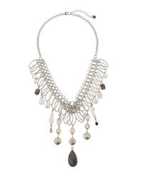 Nakamol - Metallic Multi-pearl & Agate Statement Necklace for Men - Lyst
