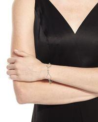 Armenta | Metallic New World Scroll Station Link Bracelet W/ Champagne Diamonds | Lyst