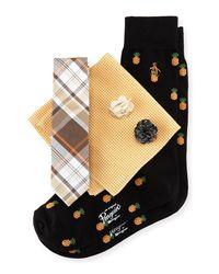 Original Penguin - Multicolor Five-piece Sock And Tie Box Set for Men - Lyst