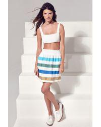 lemlem - Gola Skirt Pink - Lyst