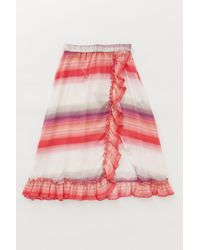 Lemlem - Pink .com Exclusive - Banu Ruffle Skirt - Lyst