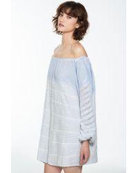 lemlem   Gray Almaz Mini Dress   Lyst