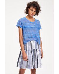 Lemlem | Blue Yeshi Ruffle Skirt (pre-sale) | Lyst