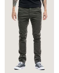 Nudie Jeans - Multicolor Slim Adam | Dark Desert Gr for Men - Lyst